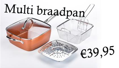 Multi braadpan
