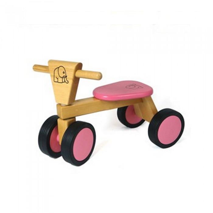 Van Bueren 66203 Houten Trike Roze