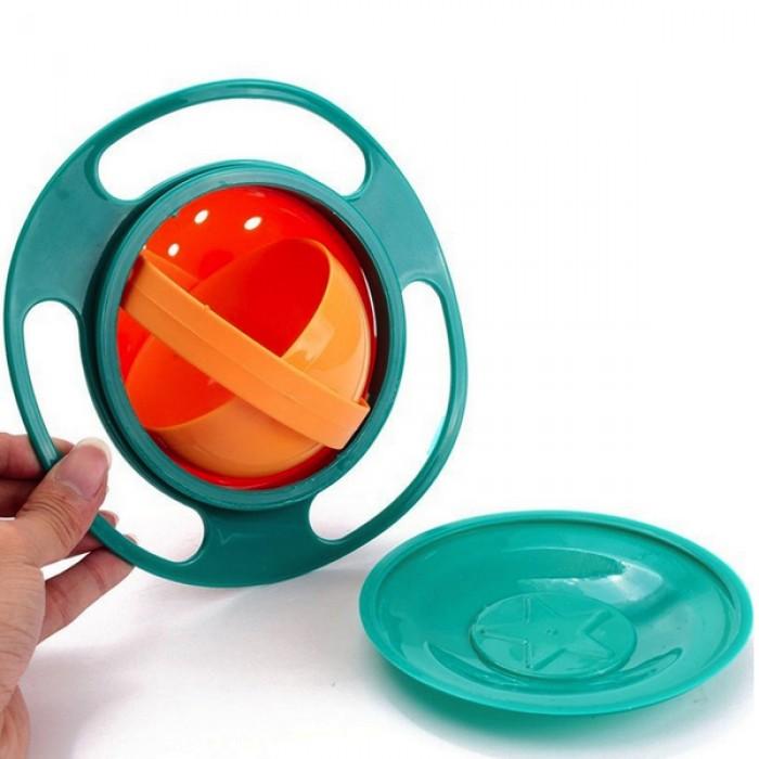 Gyro Bowl blauw 360 graden bakje