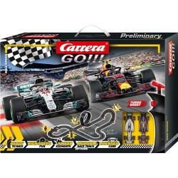 Carrera Go!!! Max Speed Racebaan Set 630 cm + 2 Controllers en 2 Auto's