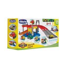 Chicco Stop & Go 2in1 Garages met 2 Autos