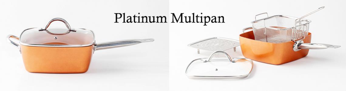 Platinum multifunctionele kookpan - inductie
