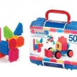 Bristle Blocks 73081 Koffer met 50 Stuks