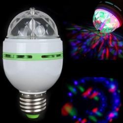 Draaiende rgb led lamp