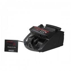 Geldtelmachine 0288 UV/MG met een tweevoudige valsgelddetectie zwart of grijs