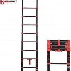 Herzberg telescoop ladder Pro - HG-BK260 Telescopische Ladder - 2,6 meter