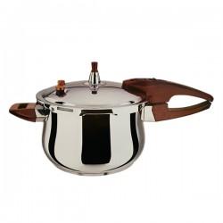 Kookkunst Holland snelkookpan 6 liter roestvrijstaal - inductie - pressure cooker