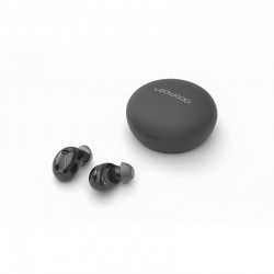 LEDWOOD Luna TWS in-ear oordopjes draadloos opladen - zwart