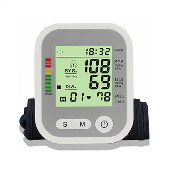 Automatische bloeddrukmeter Electronic compact snoerloos met geheugenfunctie
