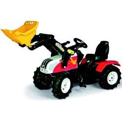 Rolly Toys 046331 RollyFarmtrac Steyr CVT6225 Tractor met Luchtbanden en Lader