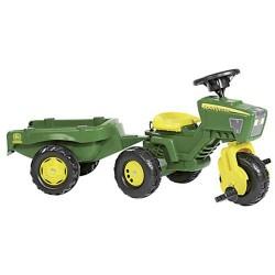 Rolly Toys 052769 RollyTrac John Deere Tractor met Aanhanger