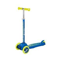 Rebel ZAB0121Y Rebel Kids Wheels driewielige kids step blauw/geel (3+ jaar)