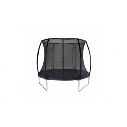 Alert Trampoline met Veiligheidsnet Zwart 244 cm