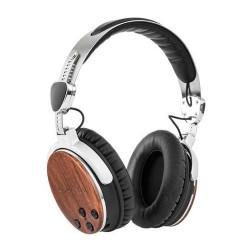 Kruger & Matz KM0670 Draadloze bluetooth hoofdtelefoon van walnotenhout