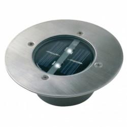 Ranex RA-5000197 Carlo Ronde Solar LED Grondspot RVS/Glas