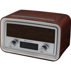 Soundmaster UR190DBR DAB+, en FM wekker radio