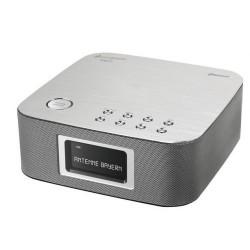 Soundmaster UR406SI DAB+, en FM wekkerradio met QI charging