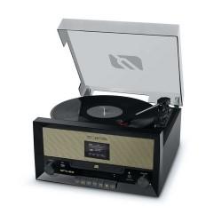 Muse MT-110DAB Muziek center met platenspeler DAB+ CD-speler en Bluetooth