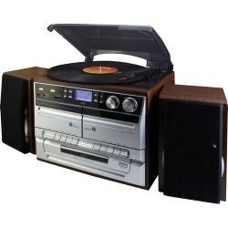 Soundmaster MCD5550DBR Music center met encoding functie en DAB+ radio