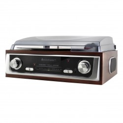 Soundmaster PL196H Platenspeler / Radio