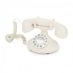 GPO 1922Pearl retro telefoon met klassiek jaren '20 ontwerp