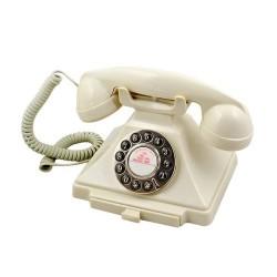 GPO 1929SPUSHIVO retro telefoon klassiek bakeliet jaren '20 ontwerp