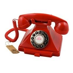 GPO 1929SPUSHRED retro telefoon klassiek bakeliet jaren '20 ontwerp