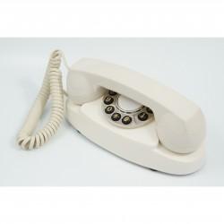 GPO 1959AUDREYIVO Retro Audrey telefoon met druktoetsen klassiek ontwerp creme