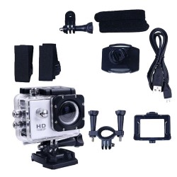 Sports Action Camera Full HD met accessoires