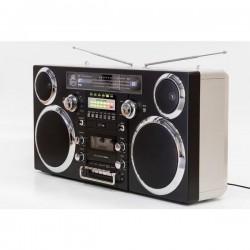 GPO BROOKLYNBLA Ghettoblaster bluetooth, CD, cassette, USB en DAB+ radio
