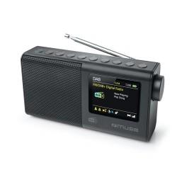 Muse M-117DB Draagbare DAB+/FM radio met groot kleuren LCD Display