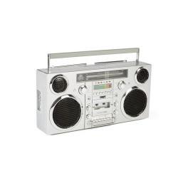 GPO BROOKLYNSIL GPO Ghettoblaster bluetooth, CD, cassette, USB en DAB+ radio