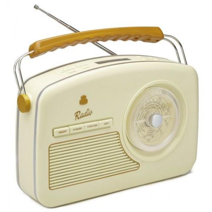 GPO RYDELLCRE Trendy Jaren 50 design radio