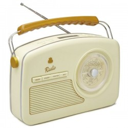 GPO RYDELLDABCRE Trendy jaren 50 style DAB+-radio