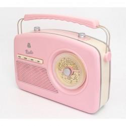 GPO RYDELLPIN Trendy Jaren 50 design radio roze