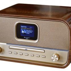 Soundmaster NMCDAB990GOLD Stereo DAB+ radio CD speler bluetooth en USB