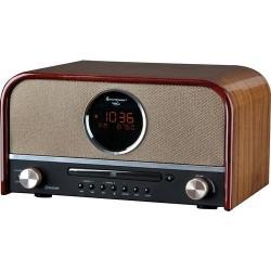 Soundmaster NR850BR DAB+ radio, CD speler met bluetooth MP3 en USB