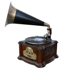 Soundmaster NR917 Nostalgische muziekcenter met grammofoon
