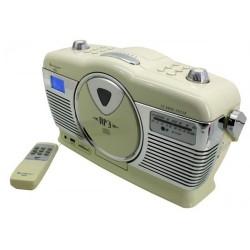 Soundmaster RCD1350BE Retro radio met CD speler en USB/SD aansluiting
