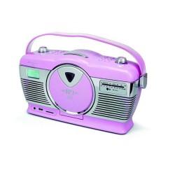 Soundmaster RCD1350PI Retro radio met CD speler en USB/SD aansluiting