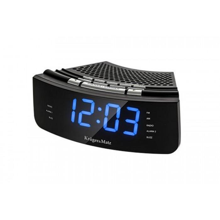 Krüger&Matz KM0813 Compacte en stijlvolle wekker radio