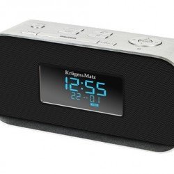 Krüger&Matz KM1150 FM Klok Radio met USB en Bluetooth