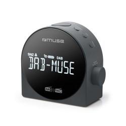 Muse M-185CDB Stijlvolle DAB+ wekkerradio met groot display