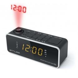 Muse M-188P Wekker radio met projectie