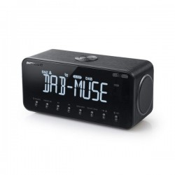 Muse M-196DBT DAB/DAB+ wekkerradio met Bluetooth