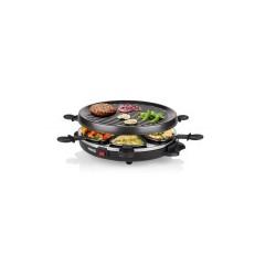 Princess 162725 Gourmetset/Raclette 6 Persoons Zwart