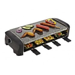Princess 162830 2in1 8-Persoons Raclette/Steengrill