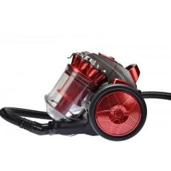 Royal Swiss ED-1509 zakloze stofzuiger 700W zonder zak rood