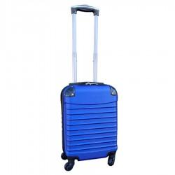 Travelerz handbagage koffer met wielen 27 liter - lichtgewicht - cijferslot - blauw