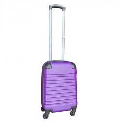 Travelerz handbagage koffer met wielen 27 liter - lichtgewicht - cijferslot - paars